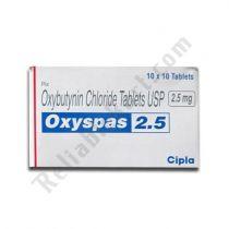 Oxyspas 2.5 Mg