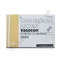 Vasocon 1 Mg Injection